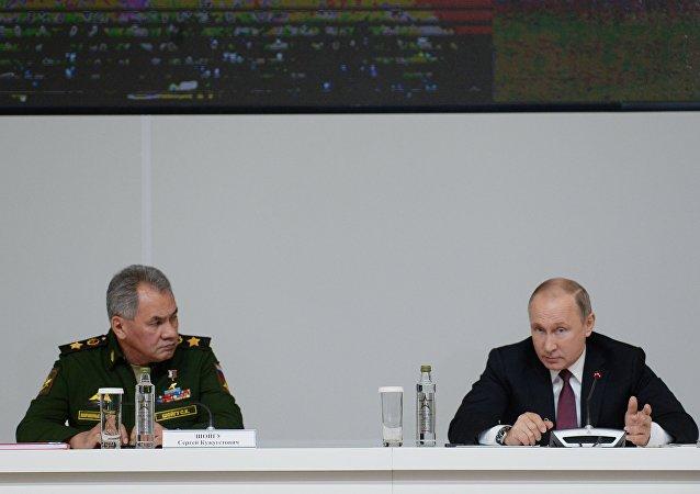 普京将在克里姆林宫为参加在叙行动的将士授奖