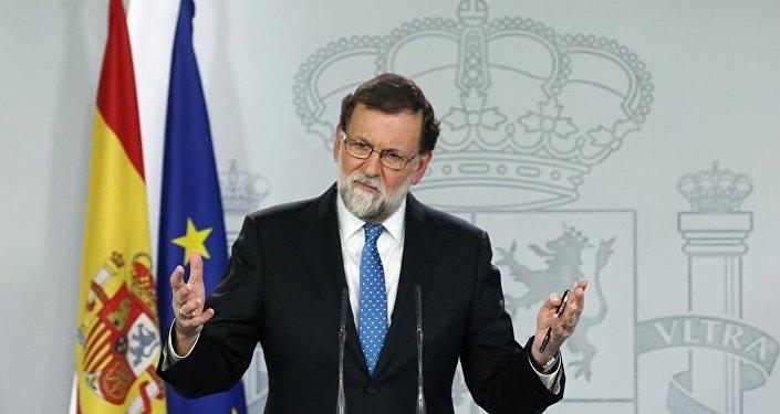 西班牙首相马里亚诺·拉霍伊