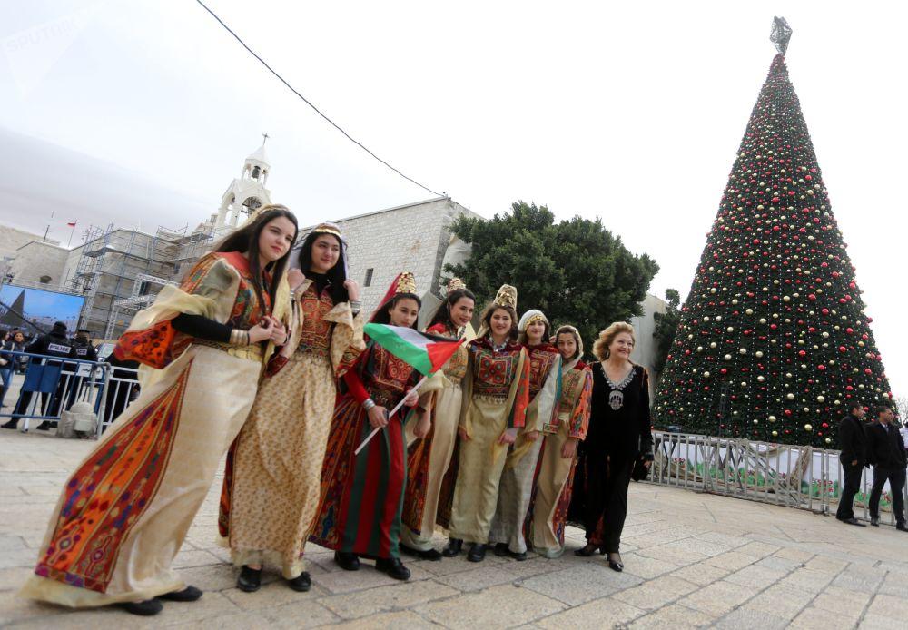 巴勒斯坦伯利恆慶祝聖誕節