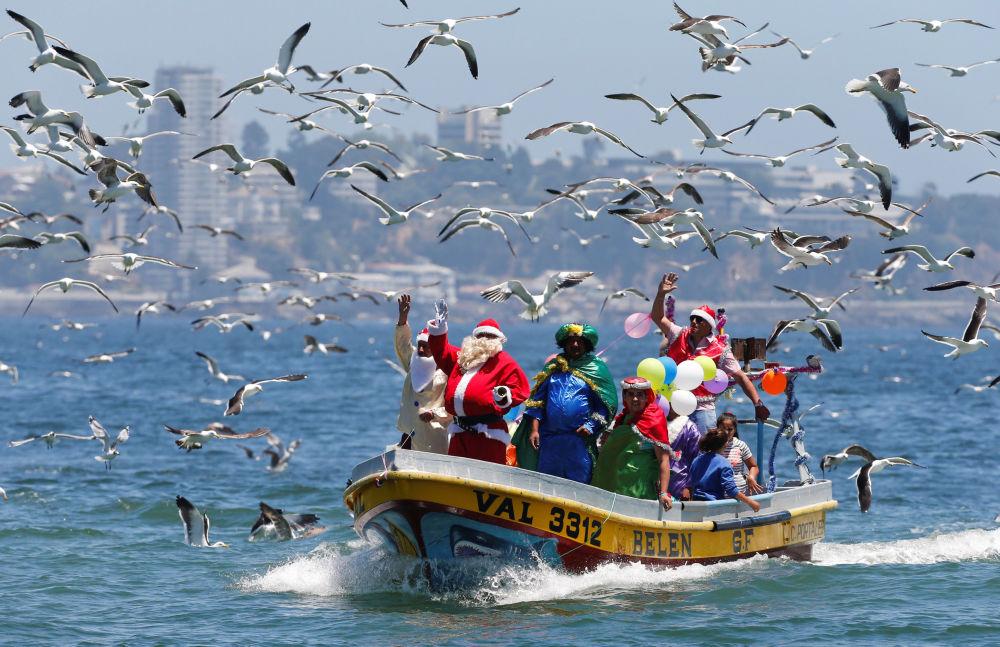 智利慶祝聖誕節