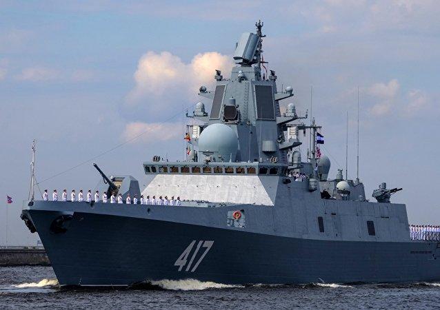"""俄罗斯""""戈尔什科夫海军上将""""号护卫舰"""