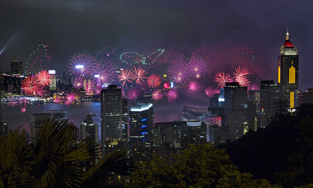 7月1日 香港回归祖国20周年