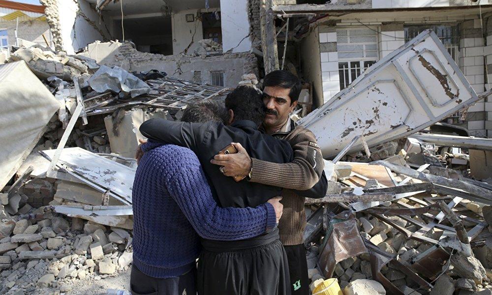 伊朗和伊拉克边界发生地震