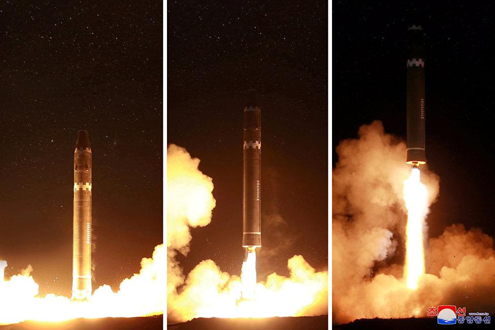新型洲际弹道导弹火星15