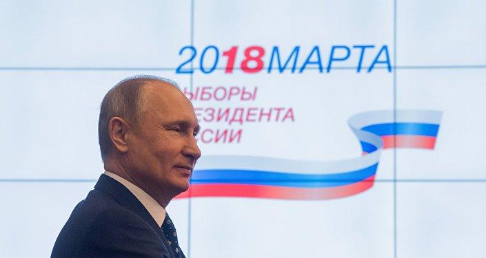 2月底普京的選舉支持率達到近70%