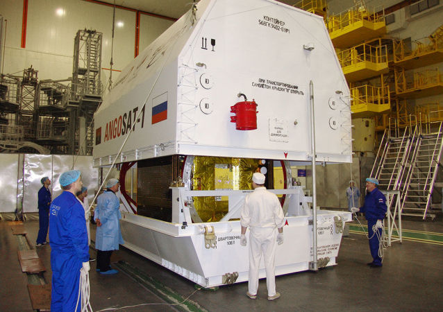 """俄""""能源""""航天公司承认安哥拉首枚卫星""""AngoSat-1""""失联"""