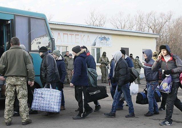 乌克兰冲突双方在顿巴斯启动换囚程序