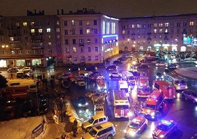 俄罗斯总统普京表示,圣彼得堡周三发生恐怖袭击