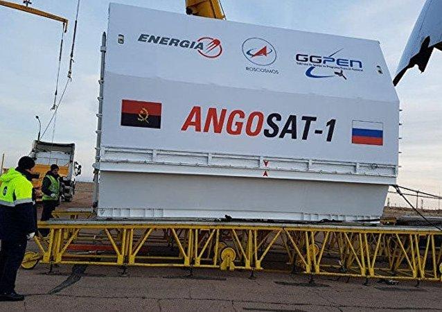 """俄""""能量""""火箭航天集团为Angosat-1卫星申请理赔"""
