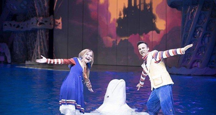 海洋動物們給大家奉獻令人贊嘆不已的新年劇目