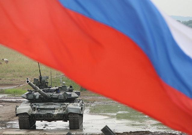 普京:強大的軍隊確保國家的和平發展