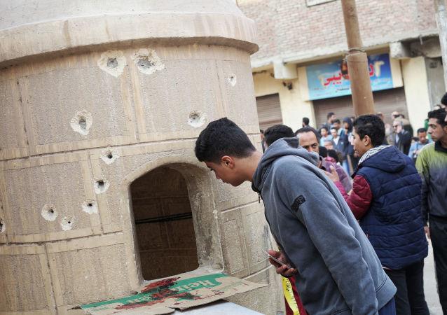 """""""伊斯兰国""""称对埃及教堂袭击案负责"""