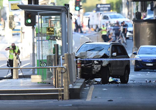 澳大利亞墨爾本汽車撞人事件一名受害者在醫院不治身亡