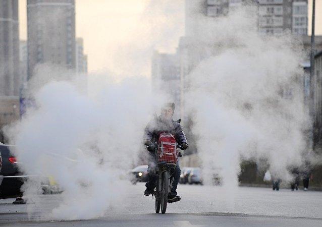 中国冬季采暖用气供应不足