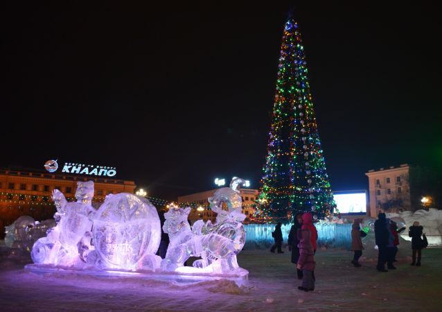 哈巴罗夫斯克圣诞树