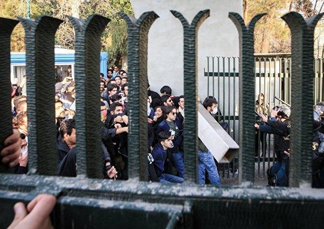 伊朗內政部副部長認為抗議很快將平息