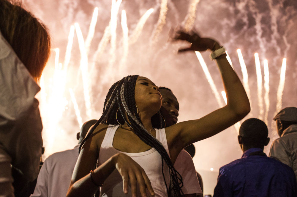 南非慶祝新年。