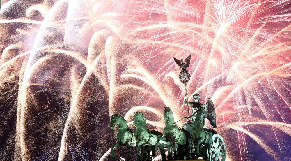 德國慶祝新年。