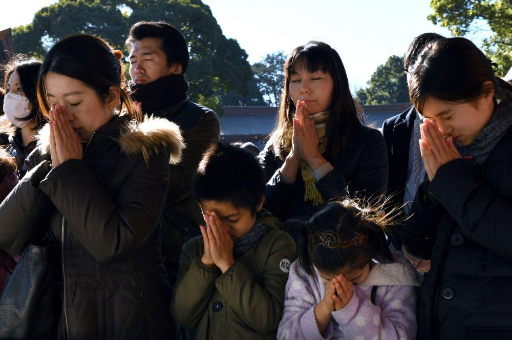 日本慶祝新年。