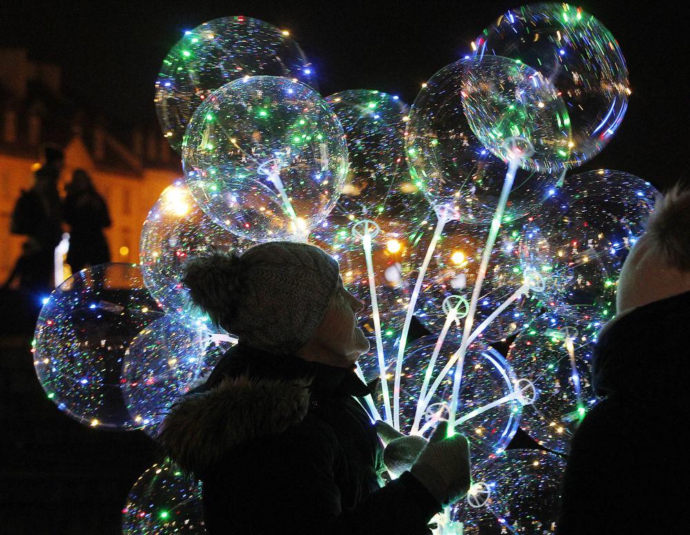 波蘭慶祝新年。