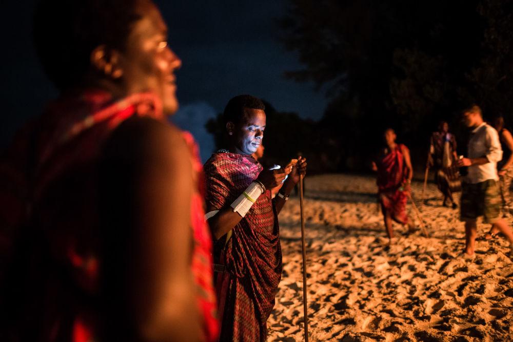 坦桑尼亞慶祝新年。