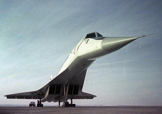 超音速民航飞机图-144