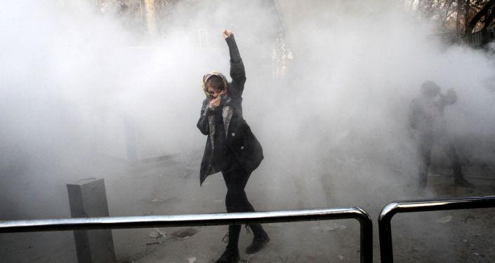 伊朗抗議集會