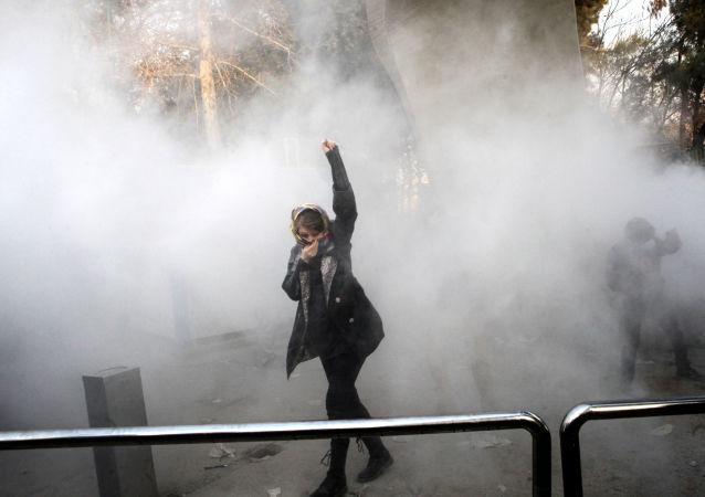 伊朗安全部隊抓捕數名煽動抗議的分子