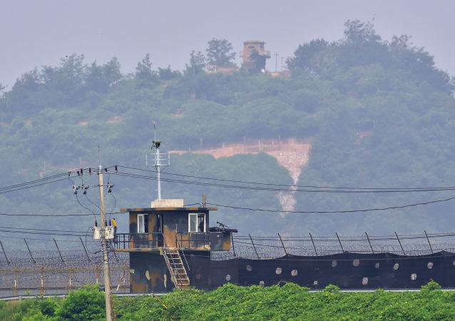 朝韩之间的非军事区