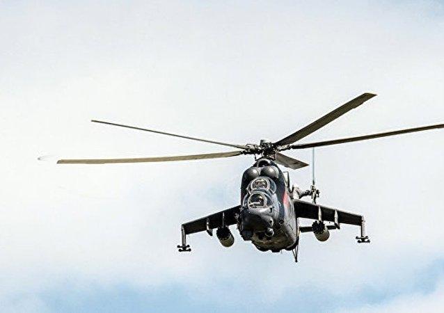 俄米-24直升机