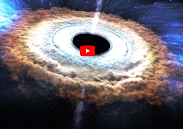 黑洞将会碎裂成恒星的组成部分