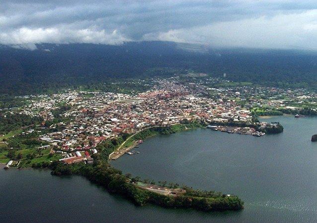 赤道幾內亞首都馬拉博