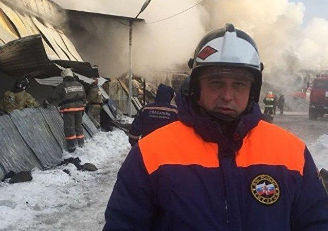新西伯利亞,火災