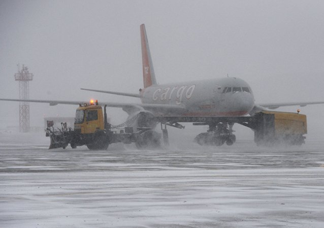 莫斯科遇大雪天氣約30個航班延誤