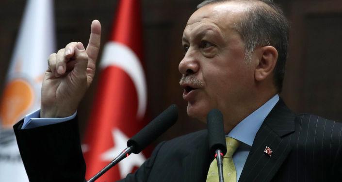 土總統埃爾多安表示,在擊潰「伊斯蘭國」後,美國在敘利亞的軍事存在旨在針對土耳其、俄羅斯和伊朗