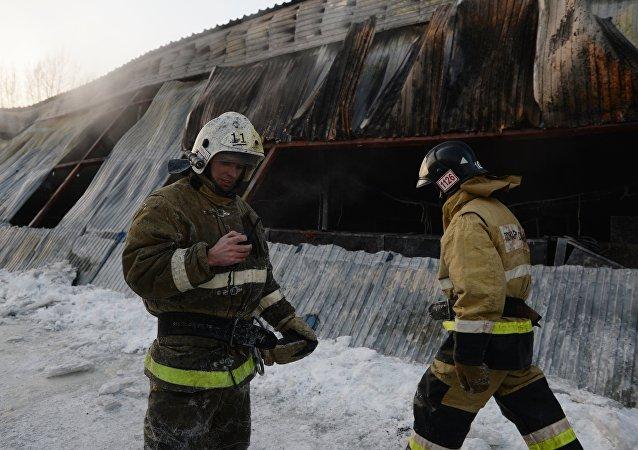 俄勞動與就業局開始對新西伯利亞火災進行檢查