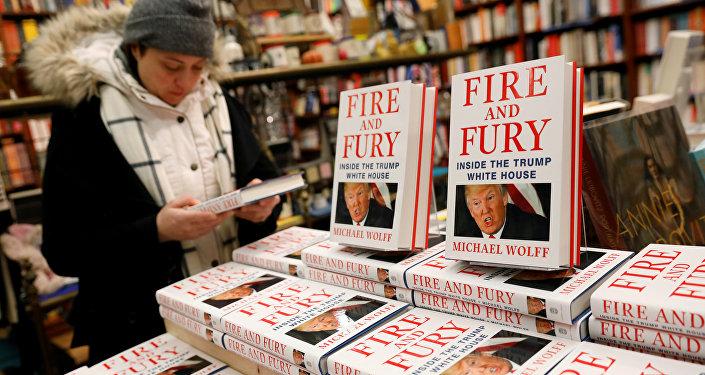 """特朗普:关于白宫的书的作者是""""彻头彻尾的失败者"""""""