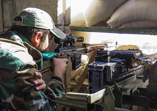 消息人士:敘軍打破對大馬士革近郊一軍事基地的包圍