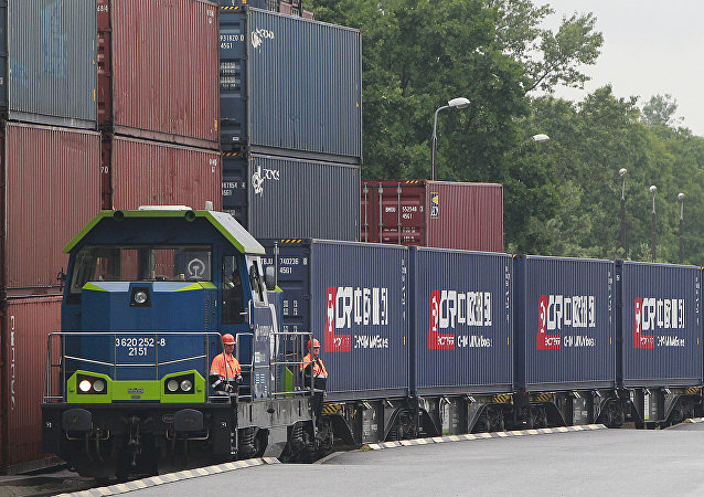 中国已增加经俄铁路运输的货运量