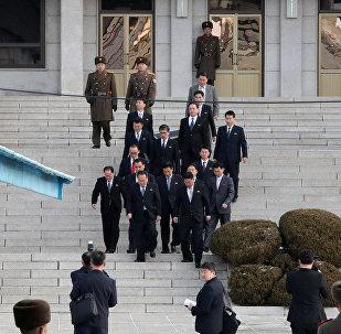 俄駐朝使館:俄駐朝大使與朝外交部代表就韓朝談判進行討論