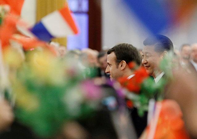法国支持中国一带一路倡议