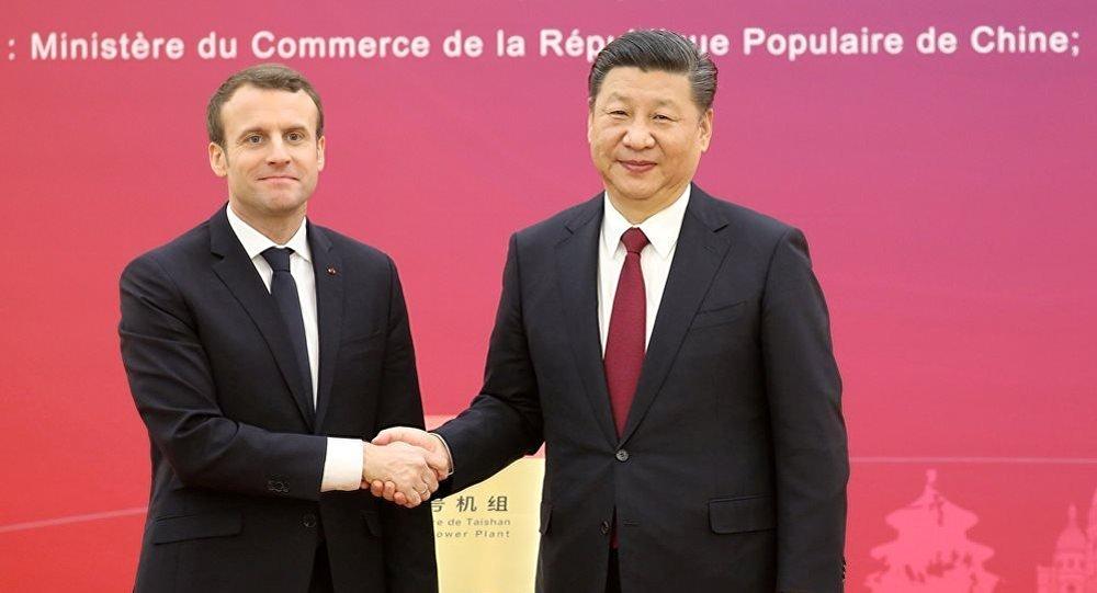 中国主席与法国总统
