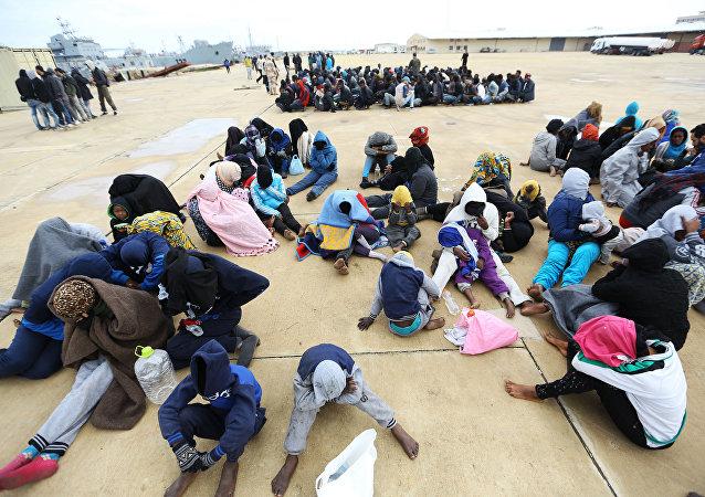 利比亞難民