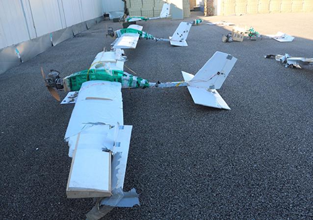 俄国防部发布了新的攻击赫梅米姆空军基地的无人机照片
