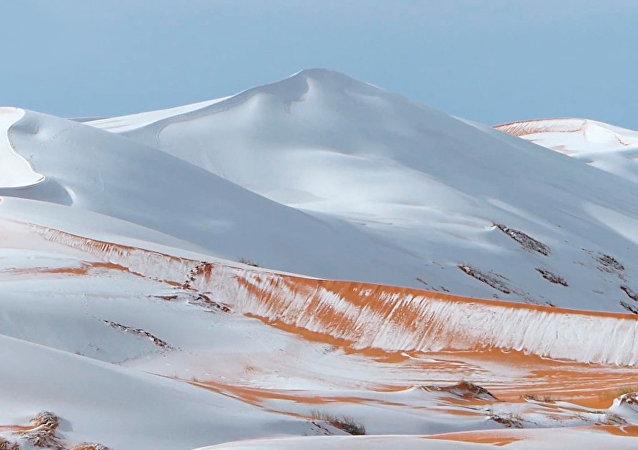 撒哈拉沙漠已连续两年出现降雪