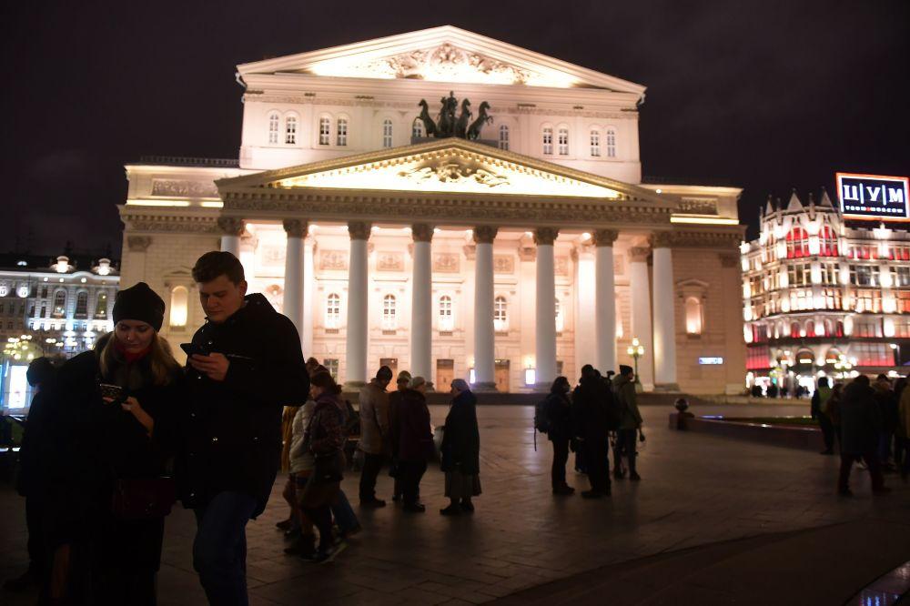 莫斯科大剧院,2017年。