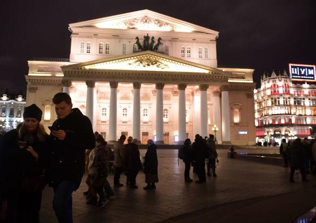 """""""剧院之夜""""年度活动在莫斯科开幕"""