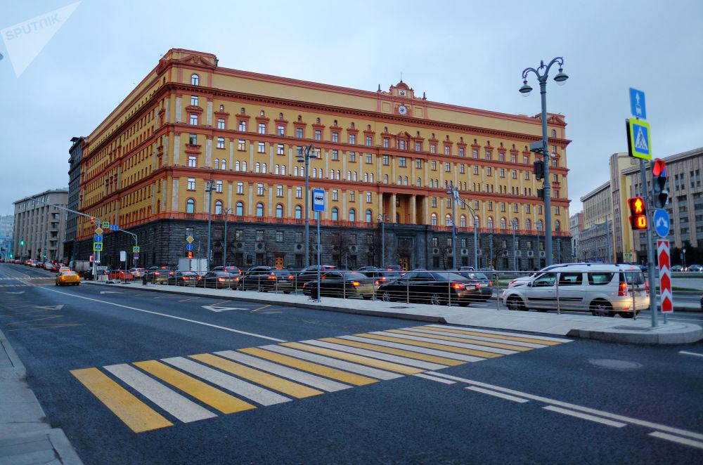 莫斯科卢比扬卡广场,2017年。