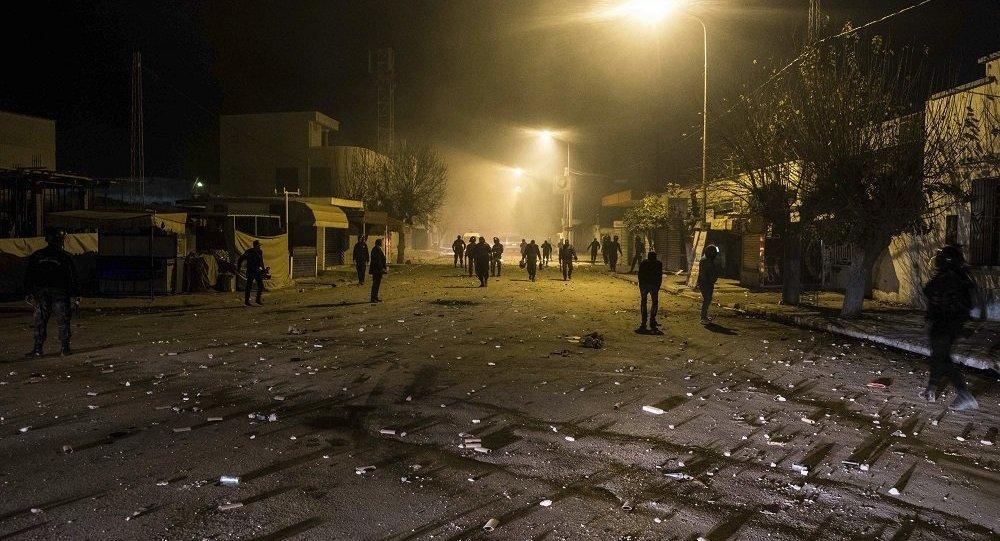 突尼斯內務部:近50名警察在抗議活動期間受傷