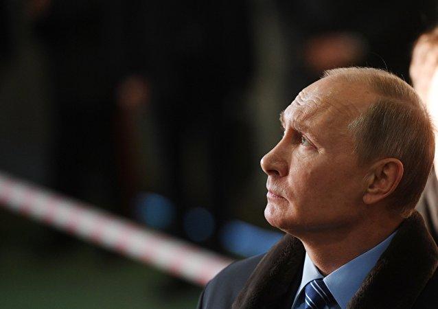 俄中选委2月6日将审议普京登记为总统候选人问题